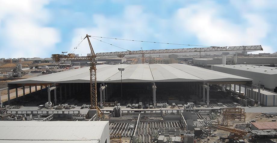 concrete technology factory